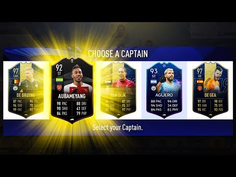 HIGHEST RATED EPL DRAFT CHALLENGE! - FIFA 19 Ultimate Team