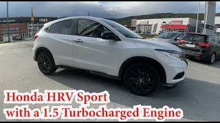 New Honda HRV with a 1.5 TURBO Engine (1st look)