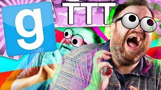 SEIZURE GAME 5000 - Gmod TTT (Garry's Mod Funny Moments)