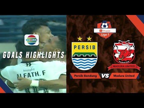 Persib Bandung (1) vs Madura United (1) - Goal Highlight   Shopee Liga 1