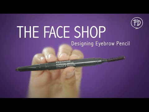 60 Seconds Report - The Face Shop Designing Eyebrow Pencil