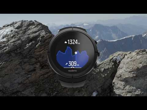 Suunto Spartan Sport Wrist Heart Rate Monitor with Belt - Presentation