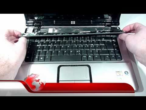 HP PAVILION DV6000 VIDEO ANLEITUNG ZUM LAUTSPRECHER TAUSCH !! VIDEO TUTORIAL SPEAKER REPLACEMENT