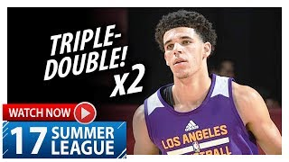 LONZO BALL TRIPLE-DOUBLE AGAINST CAVS
