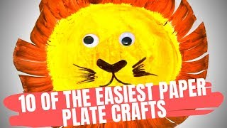 Easy Paper Plate Crafts For Kids| Craft Videos For Kids