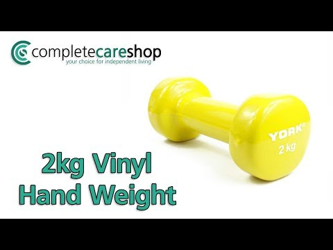 2kg Vinyl Hand Weight Demo