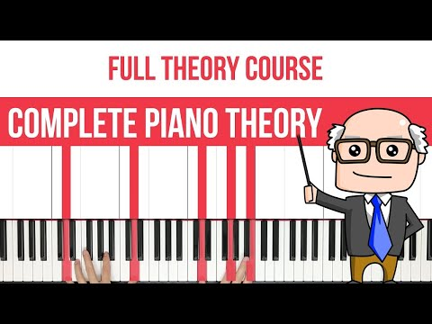 Complete Piano Theory Course: Chords, Intervals, Scales & More!