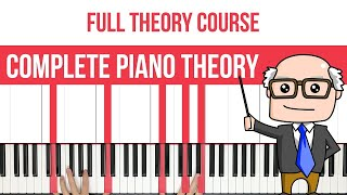 Complete Piano Theory Course - Chords, Intervals, Scales & More!