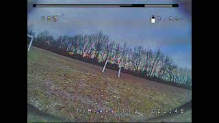 Nice Tight FPV Drone Racing Practice Track | Park Flying | TomahawkFPV