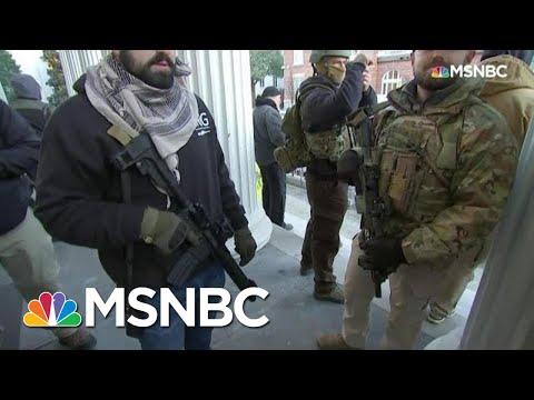 Gun Rights Activists Rally Against Gun Control Legislation In Richmond | All In | MSNBC
