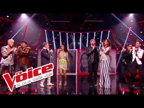 I Feel It Coming - The WeekNd ft. Daft Punk | Collégiale coachs et talents | The Voice France 2017