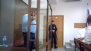 Эрик Давидыч не насиловал 12-летнюю девочку. Выступление в суде 19.07.2018.