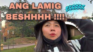 Biglaang pag alis | It's now officially fall 🍂🍁 | ang lamig na naman ! #fallweather #dailyvlogs