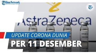 Update Corona Dunia 11 Desember 2020: Total 70,6 Juta Terinfeksi, Amerika Bertambah 202 Ribu Kasus