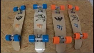 Pennyboard Mini Cruiser Skateboard selber bauen oder kaufen