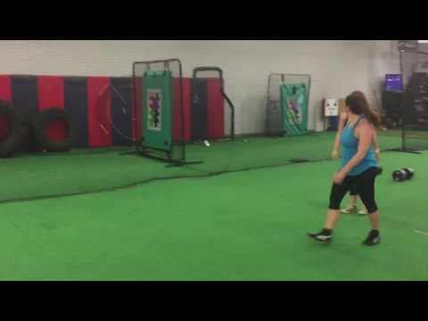 Conditioning Exercises for Powerlifters: Prowler + Farmer's Walk