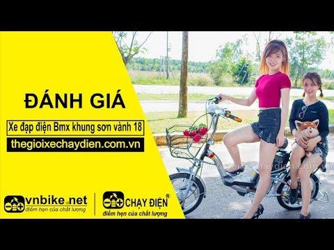 Đánh giá xe đạp điện Bmx khung sơn vành 18