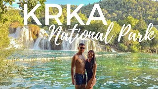 CROATIA Road Trip from Split to Zadar - Pit stop: Krka National Park, Primosten beach & Trogir