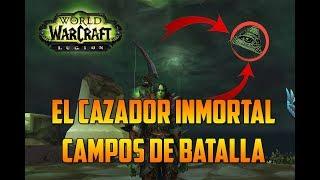 world of warcraft   legion  el cazador inmortal  campos de batalla