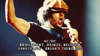 AC/DC - Given the Dog a Bone live 1980