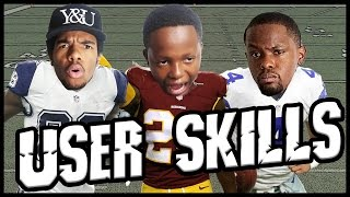 WHO'S BETTER? DEZ BRYANT OR JOSH NORMAN? - User Skills Challenge Ep.4