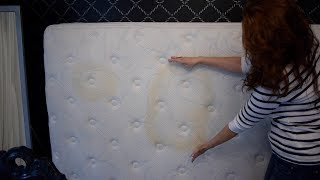 How to Clean Stains from Old Mattress