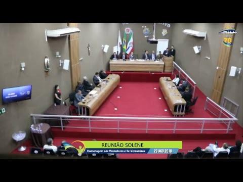 Reunião Solene (29/08/2018) - Câmara de Arcos