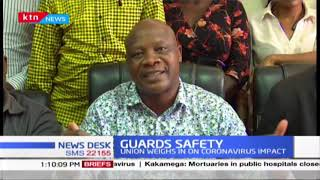 Private security guards lament, want the government to provide them with safety gears
