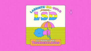 LSD   Thunderclouds (Lost Frequencies Remix) (Official Audio)