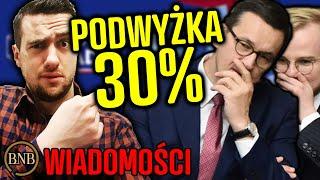 Najwyższe PODATKI w historii! Ci Polacy zapłacą najwięcej | WIADOMOŚCI