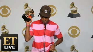Tyler, The Creator Reacts To Kobe Bryant's Death | Grammys 2020 Full Backstage Interview