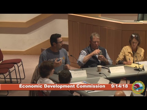 Economic Development Commission 9.14.2018