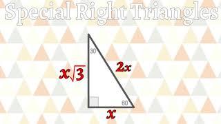 Nov. 9, 2017 -- Substitute -- Pythagorean Theorem, Special Right Triangles
