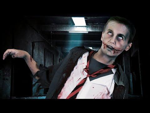Zombie Halloween schminktutorial voor kinderen