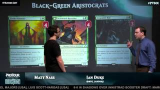 Pro Tour Shadows over Innistrad Deck Tech: Black Green Company with Matt Nass