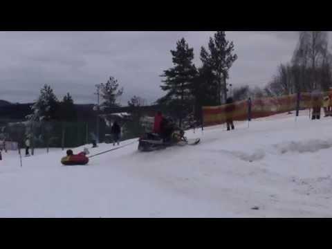 Zahájení provozu snowtubingu na Monínci