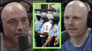 Rogan & Burr on News Media, Minneapolis, George Floyd Protests, Defunding the Police