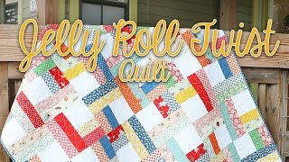 Jelly Roll Twist: Easy Quilting Tutorial – Fat Quarter Shop