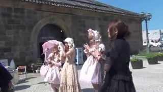 【北海道】ロリータの皆様が小樽に大集合