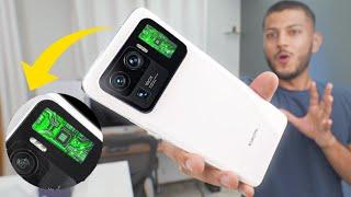 Điện thoại thông minh này có một thiết lập máy ảnh kỳ lạ!