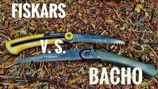 Review Fiskars v. S. BACHO klapp säge /Deutsch
