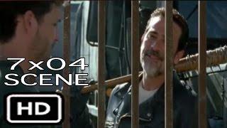 "The Walking Dead 7x04 ""Negan Entry"" Full Scene Season 7 Episode 4"