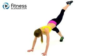 Calorie Blasting Low Impact Cardio Boot Camp - 33 Minute Recovery Cardio Workout