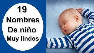 19 Nombres Populares De Niño Que Te Encantaran! ¡LOS MEJORES!