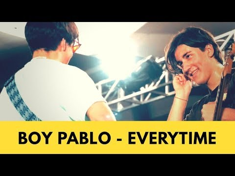 Boy Pablo - Everytime Live at LOKATARA FEST 18
