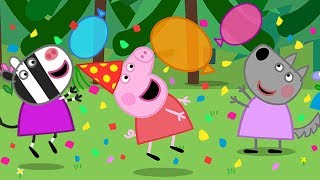 Peppa Pig English Episodes 🎉 It's Peppa's New Year Party Time 🎉 Peppa Pig Official | 4K