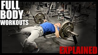 Full Body Workout Routine For Beginners   3 Days A Week   Explained
