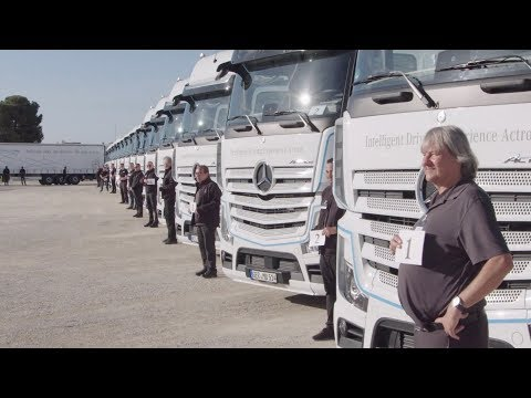 TRANSPORT & VAN.TV 42: De nieuwe Mercedes-Benz Actros getest in Spanje