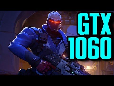 GTX 1060 -- Overwatch -- Max Settings -- Epic Settings