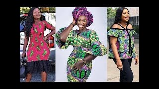 2020 STYLISHLY BEAUTIFUL AFRICAN PRINT AND LACE DRESSES FOR WOMEN: ELEGANT AND UNIQUE STYLES 2020